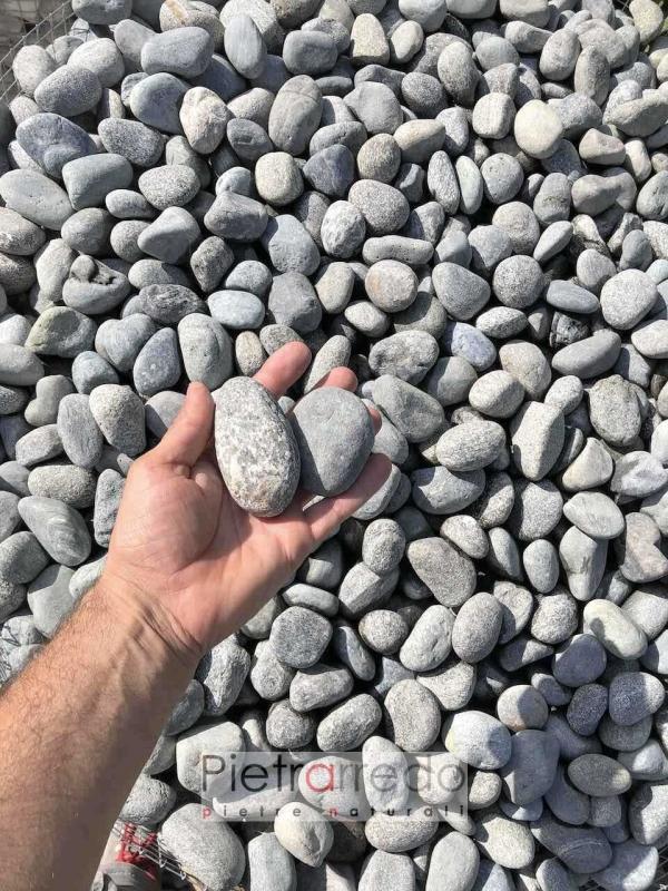 offerte e prezzi sassi per pavimenti rotondi selciato classico ciottolato prezzo pietrarredo milano
