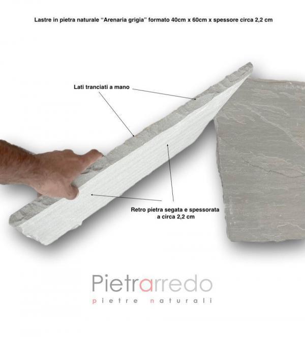 mattonelle in pietra indiana pietrarredo milano costo grigia mq pavimento