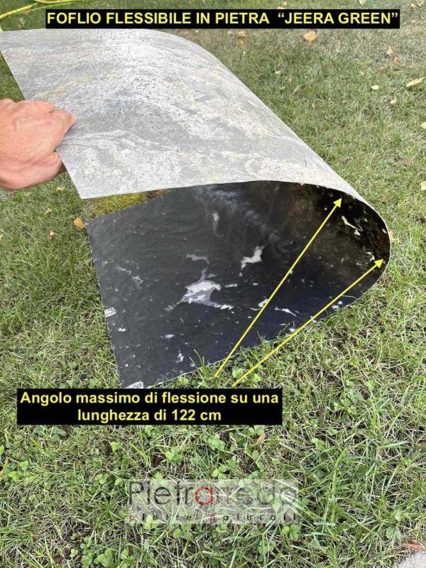 foglio flessibile in pietra massimo raggio angolazione flessibilità pietrarredo milano prezzo