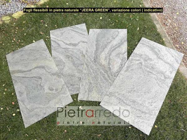 offerta pietrarredo fogli in pietra per pareti e facciate jeera green pietrarredo prezzo milano