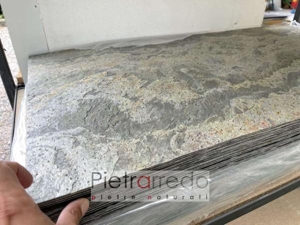 sale stone sheet slim fogli in pietra sottile pietrarredo milano jeera green