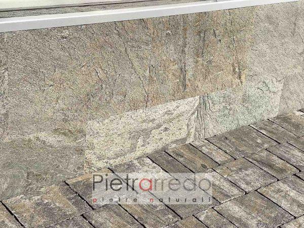 Fogli flessibili in sasso pietra flessibile sottile jeera green pietrarredo milano costi