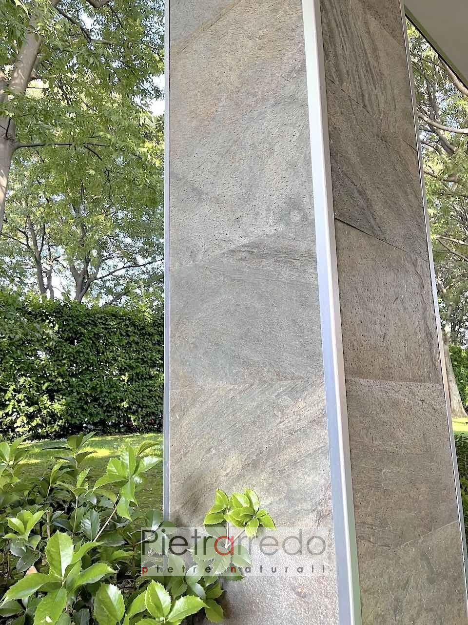 costi pannelli in pietra flessibile per pareti muri e facciate pietrarredo milano stone vener
