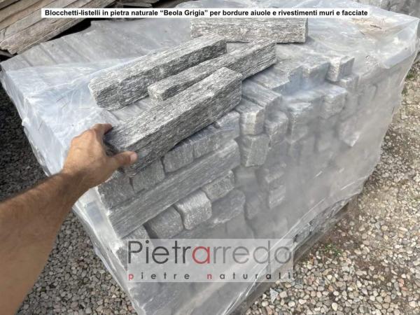 masselli in beola grigia per muri e facciate prezzo costo pietraredo parabiago offerta