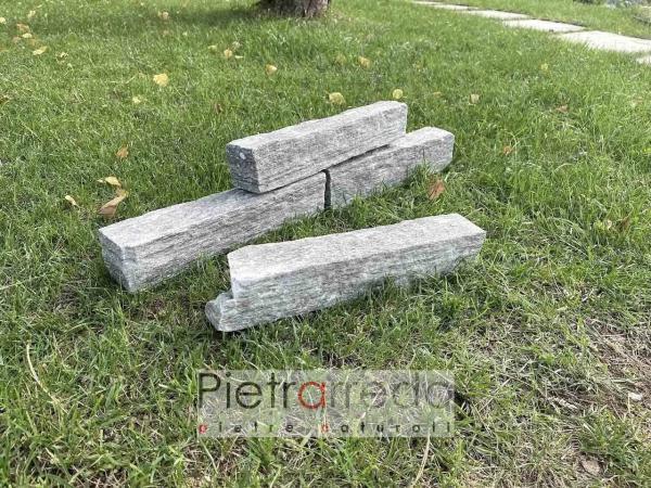 offerta e prezzo masselli blocchetti in sasso pietra per muri beola grigia pietrarredo costo