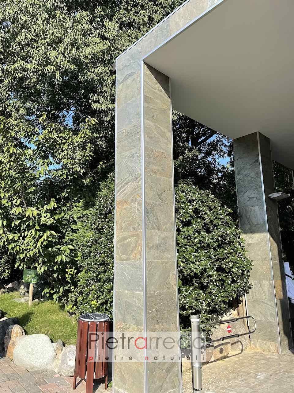 offerta e prezzo parete in pietra naturale stone sheet veneer pietrarredo milano prezzo